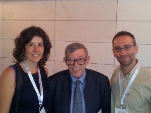Dr. Escribá, Dra. Soria y Dr. Guilleminault